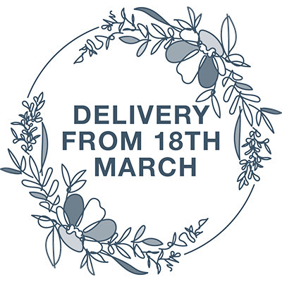 Delivery From 18th March